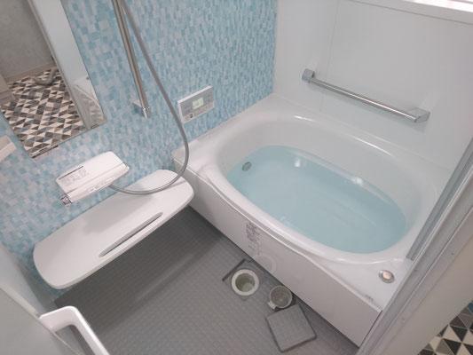 イクメンリフォームの岐阜県本巣市のお風呂・システムバスの激安リフォーム