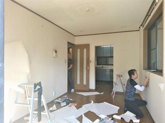 愛知県名古屋市 中古住宅の激安クロス張替え