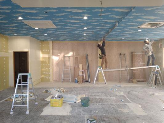 イクメンリフォームによる放課後等デイサービスの新店舗工事