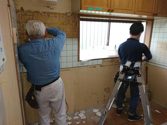 愛知県一宮市 システムキッチンの激安リフォーム