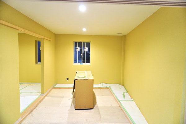 愛知県名古屋市 二世帯住宅のクロス工事