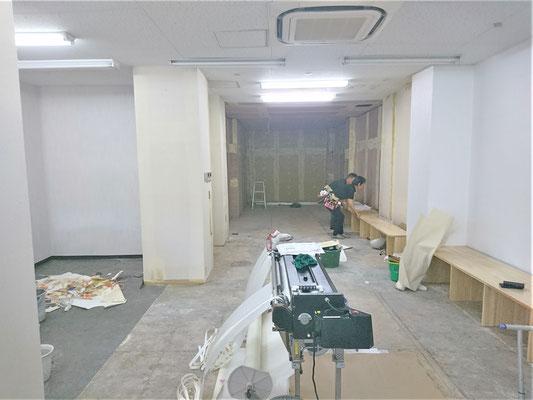 イクメンリフォームの新規開業店舗の激安内装工事