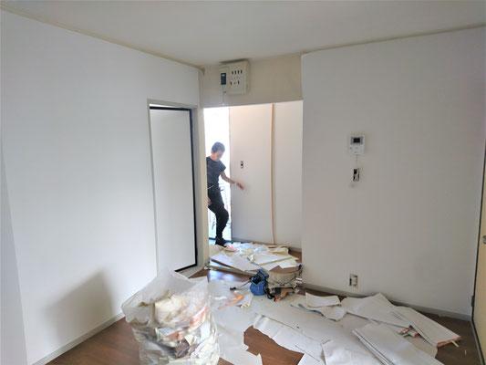 岐阜県瑞穂市 激安賃貸青パートのリフォーム工事