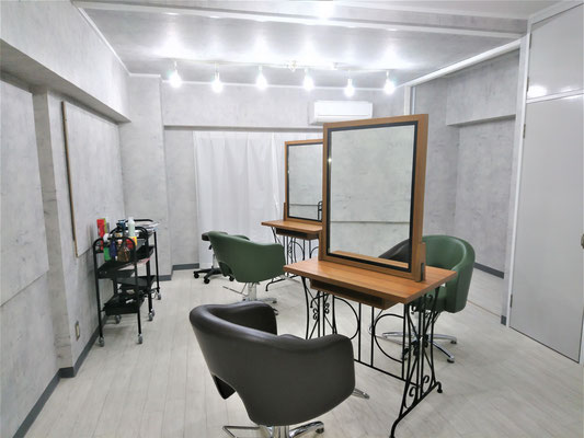 愛知県名古屋市 「美容室」 激安リフォーム・内装工事