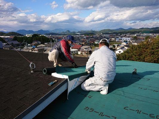 岐阜県各務原市 屋根の雨漏り修理