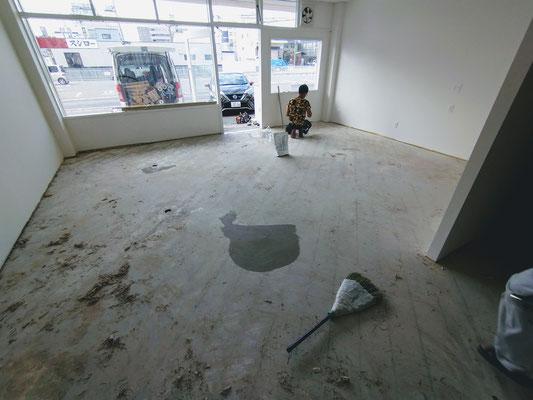 イクメンリフォームによる新規開業店舗の激安改装工事