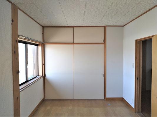 岐阜県瑞穂市の空き家の激安壁紙張替え