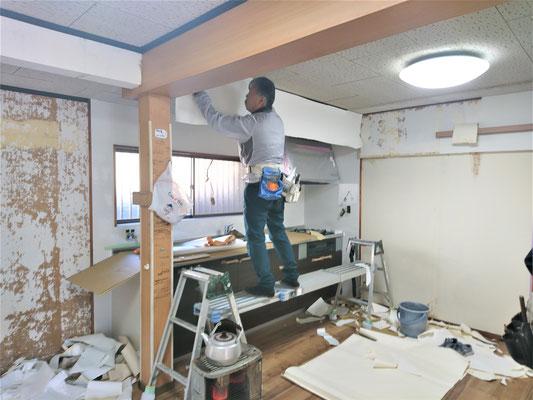岐阜県山県市 激安システムキッチンリフォーム