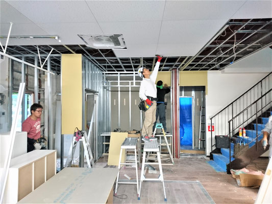 愛知県長久手市 店舗のリフォ-ム工事