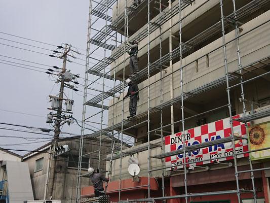 イクメンリフォームによる愛知県名古屋市の激安外壁塗装工事