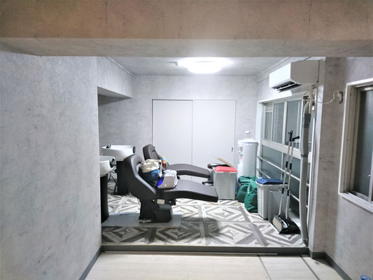 愛知県名古屋市 美容室の新店舗の内装工事