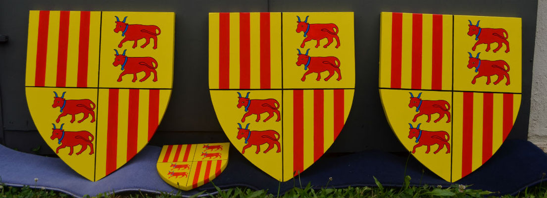 reproduction du blason de la ville de Rions