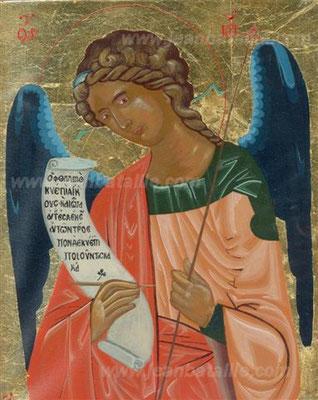 Archange Gabriel, peinture Tampéra