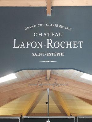 Sigle Lafon-Rochet en peinture acrylique