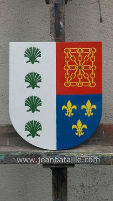 Création de blason de famille de Navarre ( Espagne)