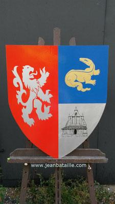 Création du Blason de la mairie de Tizac de Curton (33)