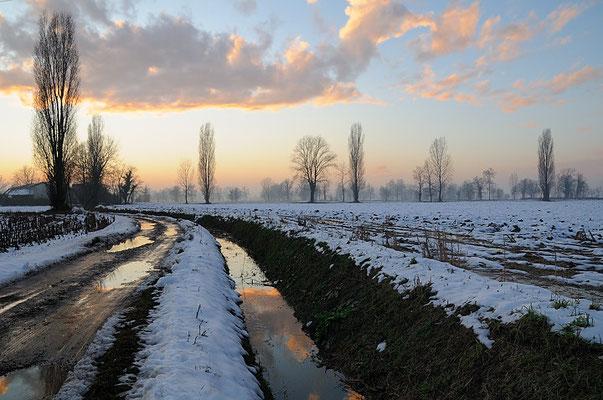 Tramonto, Natale 2009 Comazzo d'Adda
