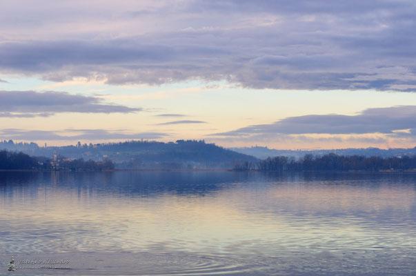 ...quando Pusiano dorme ancora (Bosisio Parini, lago di Pusiano)