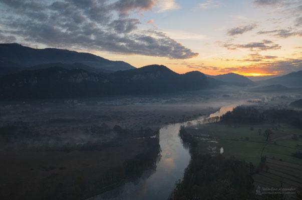 Prime luci sul fiume (Adda da Airuno)