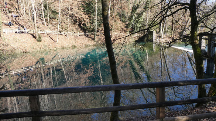 Blautopf Blaubeuren 16. Feb. 2019