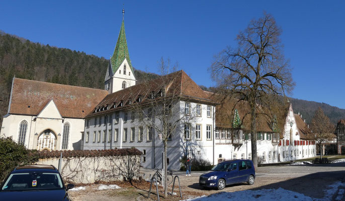 Kloster Blaubeuren, Klosterhof 16. Feb. 2019
