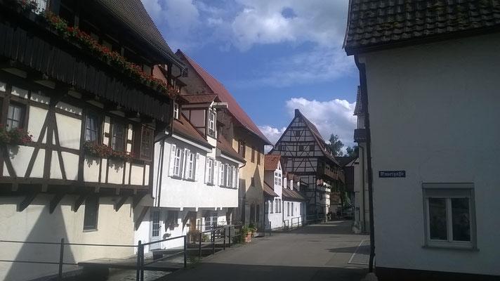 Häuser in Blaubeuren