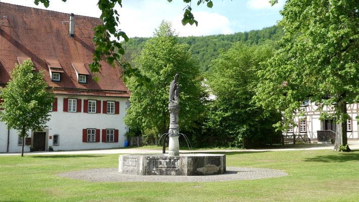 Klosterhof in Blaubeuren 27. Mai 2019