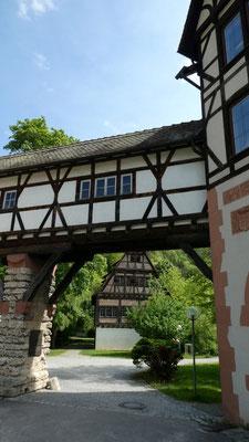 Klosterhof in Blaubeuren 27. Mai 2019 Blick auf´s Badhaus