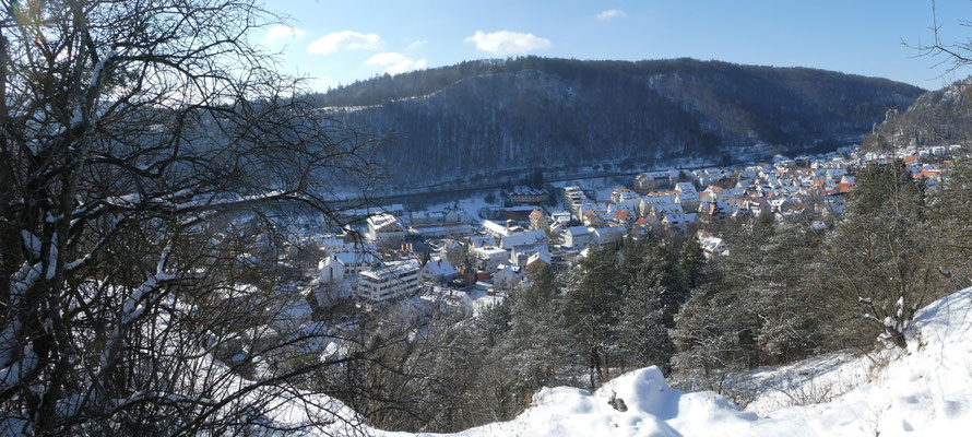 Blaubeuren am 11. Feb. 2021