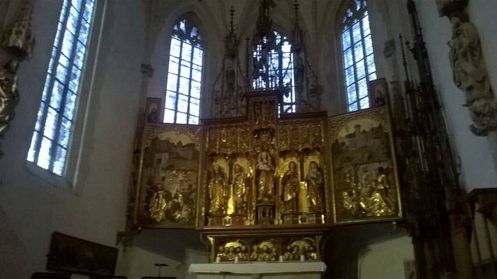 Kloster Blaubeuren Altar Juni2018