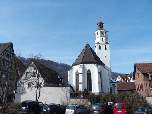Ev. Kirche in Blaubeuren