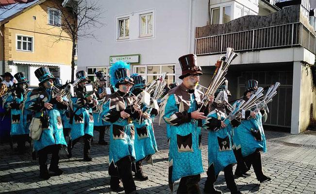 08.02.2020 - Kinderumzug Sonthofen mit Rathaus-Sturm