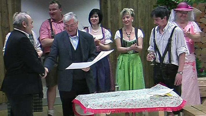 Schlossbergbühne Scherstetten e.V. 2009. Sonderaufführung zugunsten der Stiftung