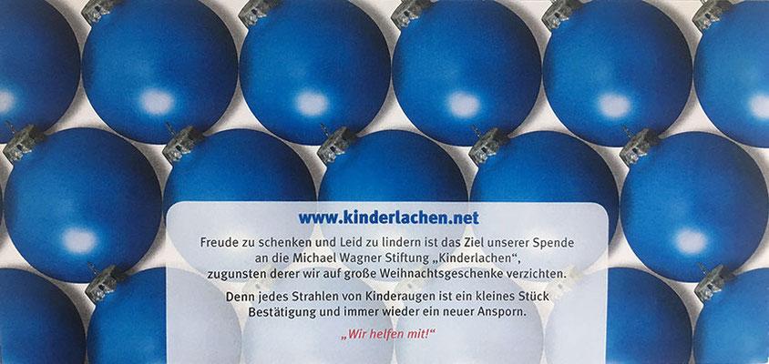Anlassspende Firma Werner
