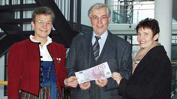 Musikverein Langenneufnach e.V.. Erlös aus dem Weihnachtskonzert 2007