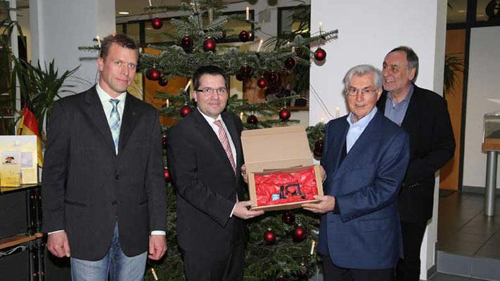 Toyota Material Handling Deutschland GmbH. Spende zur Unterstützung unserer Arbeit zum Wohle notleidender Kinder