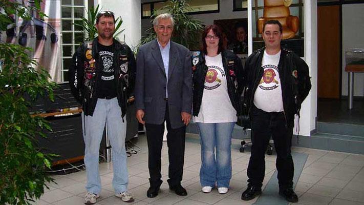 Motorradfreunde Fischach e.V.. Erlös aus dem Treffen der Motorradfreunde 2007