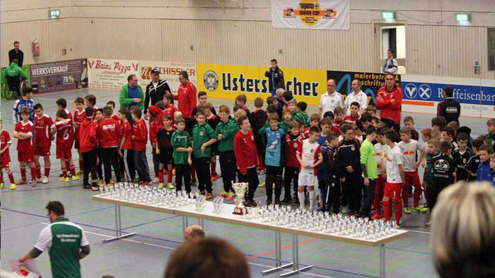 TSV Fischach e.V., Abteilung Fußball. Erlös aus dem Verkauf der Eintrittskarten anlässlich des TOPSTAR-Junior-Cups 2014/2015