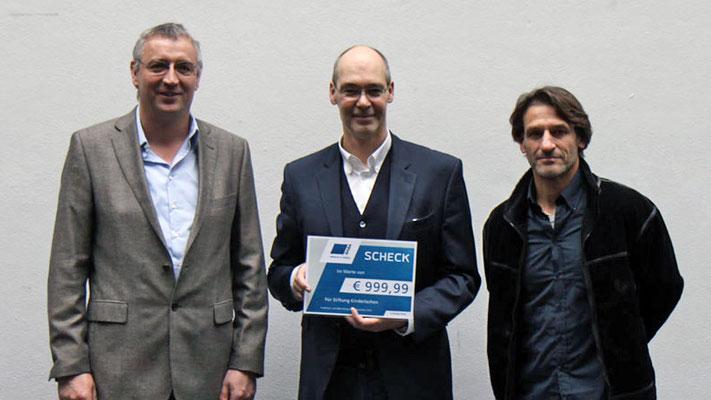 Firma SABA - Niederlande. Spende für notleidende Kinder und Jugendliche