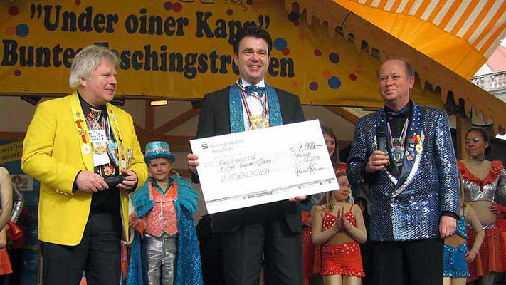 Faschingsgesellschaft Narrneusia, Neusäß. Tombola-Aktion anlässlich der Kinderbälle 2008