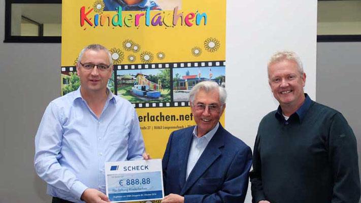 """Firma SABA - Niederlande. Erneut zeigt die Firma """"Ein Herz für notleidende Kinder"""""""