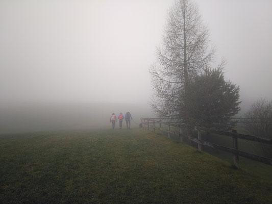 Wanderstart in Eggerstanden