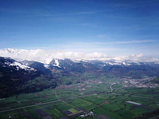 Panorama vom Gipfel aus