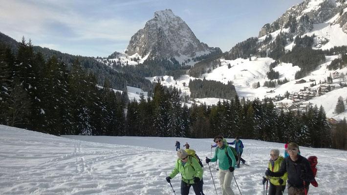 Start in Brunni im Alptal (Schwyz)