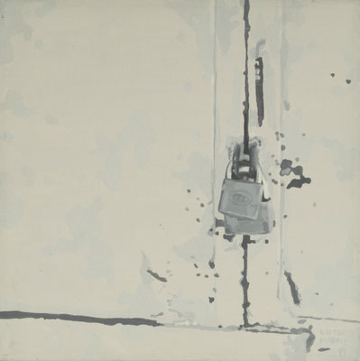 Serie Gray, 1999-2000. Acrylic on canvas. 30x 30cm