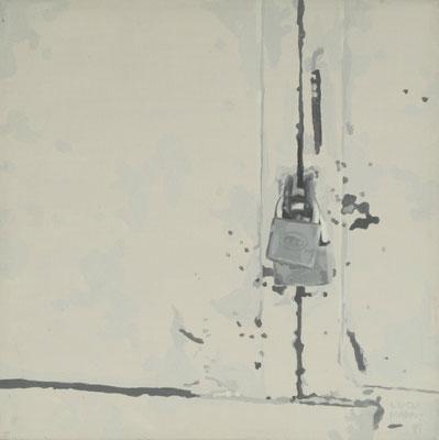 Serie Gray, 1999-2000. Acrylic on canvas. 30x 30cm
