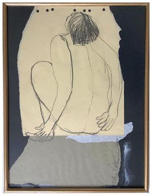 Evelyne Knobling, Collage, 30 x 40 cm, 260,- €
