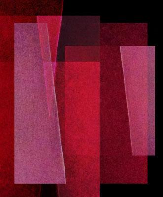 Jo Zähringer, Konstruktion #126, 2019, Digitales Fotogramm, Druck,  10. Auflage, 40 x 55 cm, signiert und datiert, mit Rahmen 160,- €