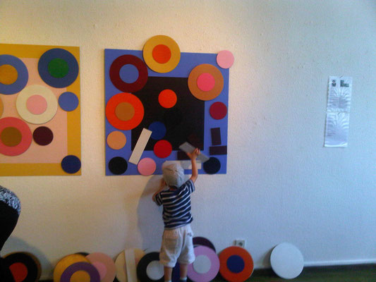 interaktive Installation: Ellen Roß