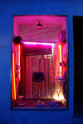 Destillate - without art we are just existing_Installation von Nicole Heidel_Kulturtage Ehrenbreitstein 2016